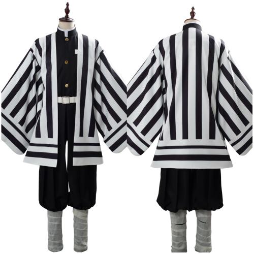 Demon Slayer: Kimetsu no Yaiba Iguro Obanai Costume Uniform Cosplay Costume