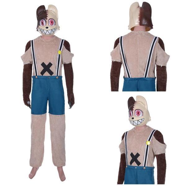 Anime Gleipnir Shuuichi Kagaya Cosplay Costume Men Jumpsuit Halloween Carnival Outfits