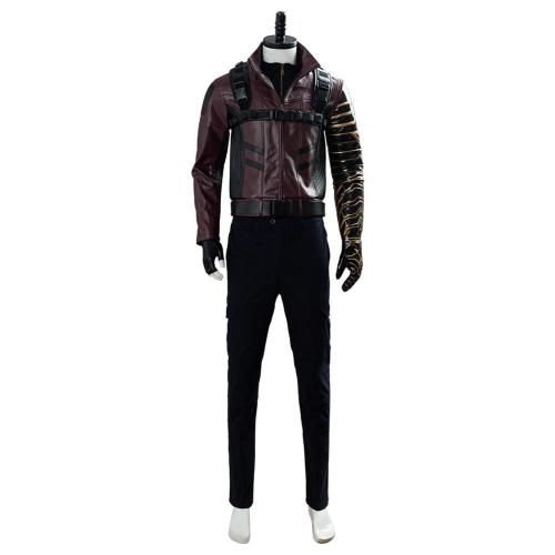Bucky Barnes Suit The Falcon and the Winter Soldier Cosplay Costume