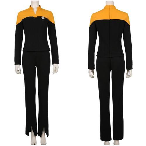 Star Trek: Picard Season 1 Raffi Musiker Halloween Uniform Outfit Cosplay Costume