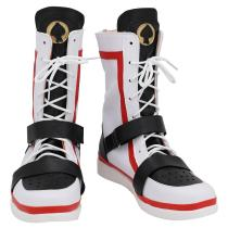 Game Twisted-Wonderland Alice in Wonderland Theme Deucc Cosplay Shoes