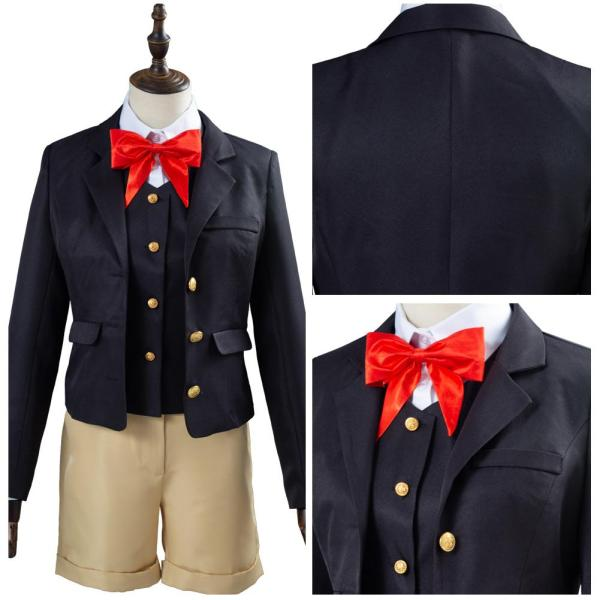 Danganronpa Halloween Carnival Costume Samidare Yui School Uniform Outfit Cosplay Costume