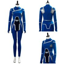 Lyla Michaels Crisis on Infinite Earths TV Show Pioneer Lyla Suit Cosplay Costume
