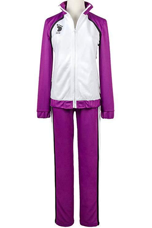 Haikyu Haikyuu Shiratorizawa Academy School Uniform Jeysey Suit Cosplay Costume