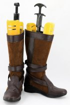 Star WarsVII The Force Awakens General Leia Organa Boots Cosplay Shoes