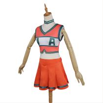 Boku no Hero Academia My Hero Academia cheerleaders Uniform Dress Cosplay Costume