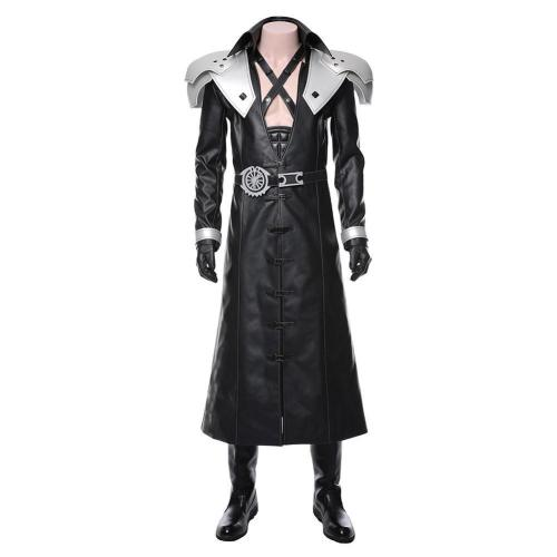 Final Fantasy  VII Remake-Sephiroth Suit Costume Cosplay Costume