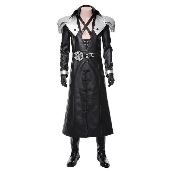 Final Fantasy  VII Remake-Sephiroth Suit Costume Cosplay Costume