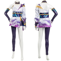 League of Legends LoL 2020 Spirit Blossom Riven New Skin Cosplay Costume Halloween Carnival Suit