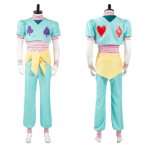 Hunter x Hunter Top Pants Outfit Hisoka Halloween Carnival Suit Cosplay Costume