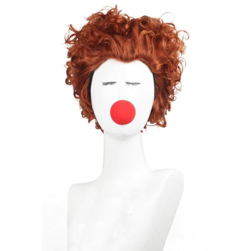Hocus Pocus Heat Resistant Synthetic Hair Winifred Sanderson Carnival Halloween Party Props Cosplay Wig