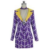 JoJo's Bizarre Adventure:Golden Wind Prosciutto Cosplay Women Uniform Skirt Outfit Halloween Carnival Costume