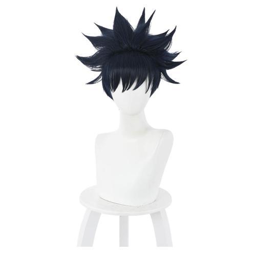 Anime Jujutsu Kaisen Heat Resistant Synthetic Hair Megumi Fushiguro Carnival Halloween Party Props Cosplay Wig