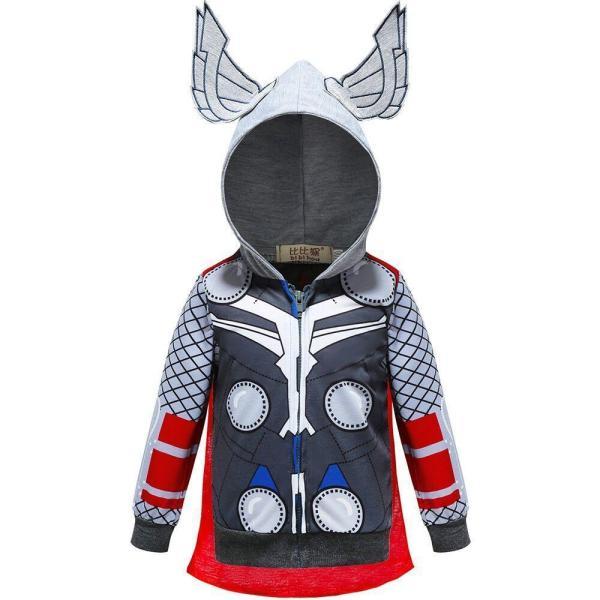 Marvel Thor Zip Up Hoodie For Kids Children