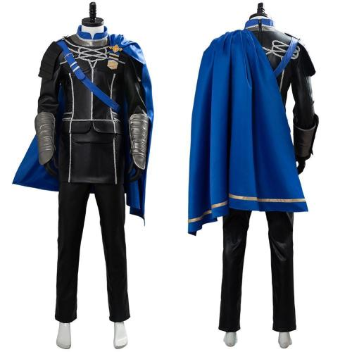 Fire Emblem: ThreeHouses Dimitri Alexandre Bladud Cosplay Costume Outfit Dress Suit Uniform