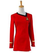 Star Trek Cosplay Costume The Woman Duty Uniform Dress Costume Full Set Uniform Adult Female