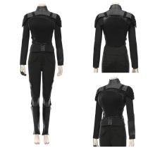 The Hunger Games: Mockingjay Top Pants Outfit Katniss Everdeen Halloween Carnival Suit Cosplay Costume