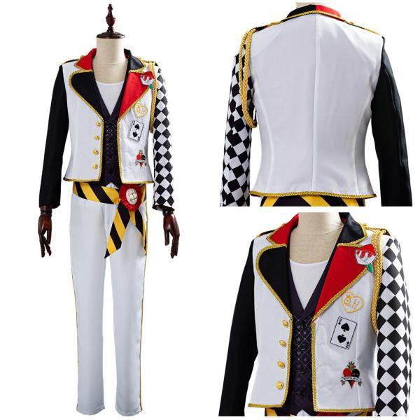 Theme Deucc Game Twisted-Wonderland Alice in Wonderland Cosplay Costume