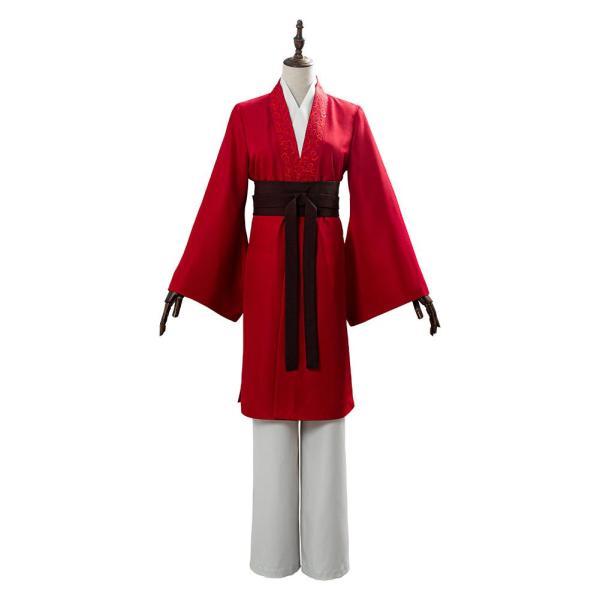 Movie Mulan 2020 Hanfu Womens Garments Cosplay Costume