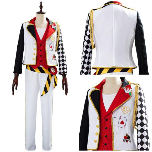 Twisted-Wonderland Game Alice in Wonderland Cosplay Costume Theme Ace Halloween Uniform Outfits