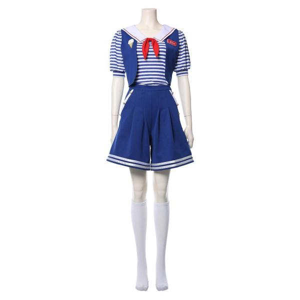 Stranger Things Season 3 Robin Sailor Cosplay Costume