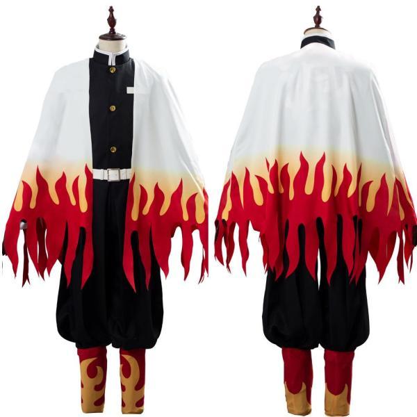 Demon Slayer: Kimetsu no Yaiba Rengoku Kyoujuro/Kyoujurou Uniform Cosplay Costume
