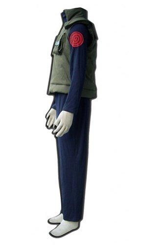 Naruto Hatake Kakashi Child Kid Cosplay Costume Whole Set