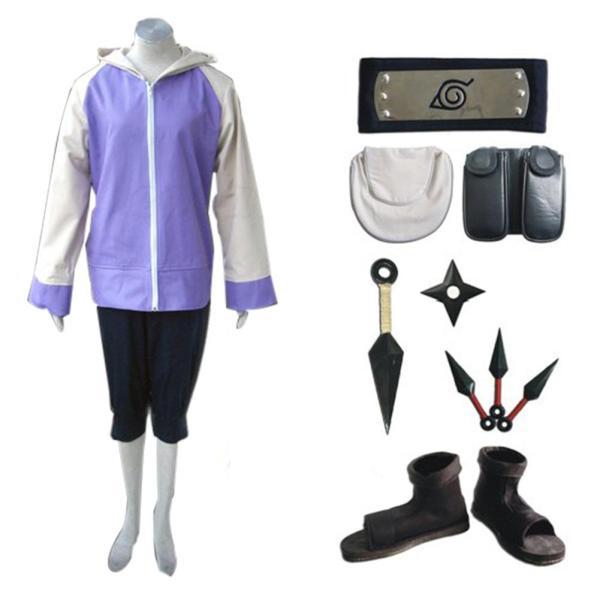 Naruto Hyuga Hinata Ver B Whole Set Cosplay Costume