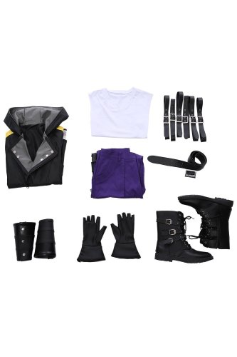Kingdom Hearts III Riku Outfit Cosplay Costume Version Two