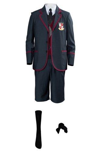 The Umbrella Academy Boys School Uniform Cosplay Costume For Kids