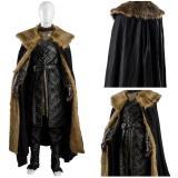 GoT 8 Game of Thrones Season 8 Jon Snow Outfit Cosplay Costume