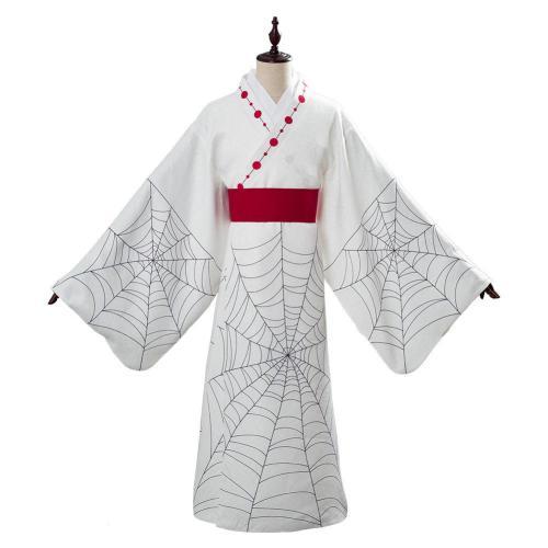 Web Demon Slayer: Kimetsu no Yaiba Cosplay Spider Lower Moon Five Rui Suit Cosplay Costume