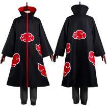 Naruto Pants Top Outfit Akatsuki Uchiha Itachi Halloween Carnival Suit Cosplay Costume
