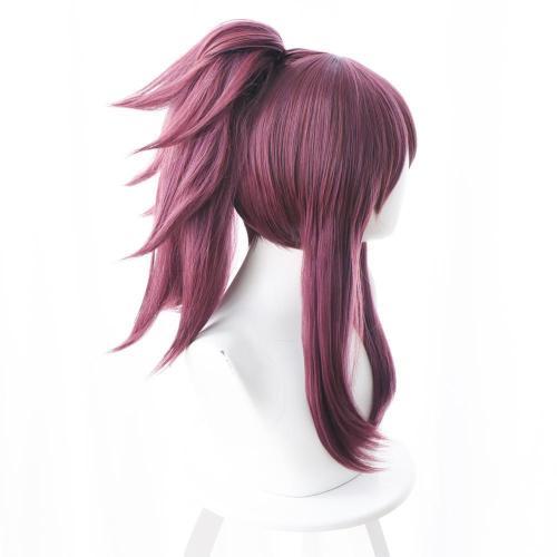 League of Legends The Rogue Assassin Akali K/DA Skin Cosplay Wig Purple