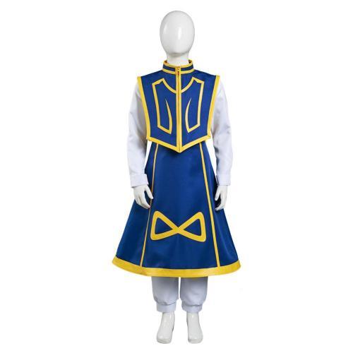 Hunter x Hunter Kids Pants Cape Outfit Kurapika Halloween Carnival Suit Cosplay Costume