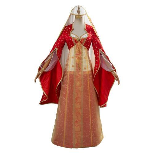 Movie Aladdin Dalia Cosplay Costume