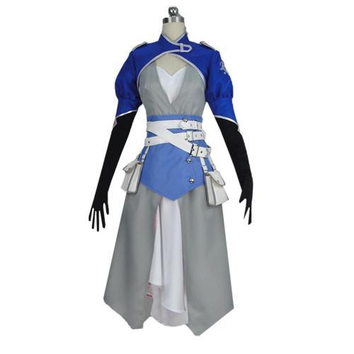 RWBY Season 7 Weiss Schnee Dress Cosplay Costume