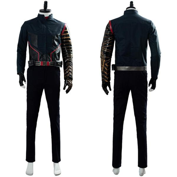 The Falcon and the Winter Soldier 2020 Movie Buggy Battle Uniform Cosplay Costume