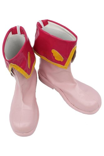 Card Captor Sakura Cosplay Shoes Boots Pink