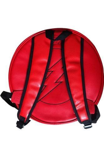 Teen School Bag DC The Flash Lighting Loge Backpack For Kids
