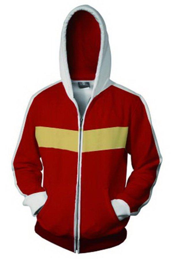 Voltron: Defender of the Universe Hoodie Keith Akira Kogane Zip Up Sweatshirt Unisex