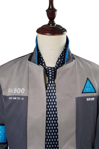 Detroit: Become Human Connor RK800 Deviant Hunter Agent Uniform Police Investigator Suit