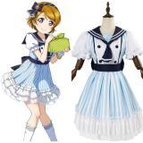LoveLive Koizumi Hanayo Dress Cosplay Costume Pirate Ver SSR