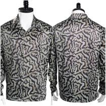 Tiger King Print Shirt Joe Exotic Cosplay Costume