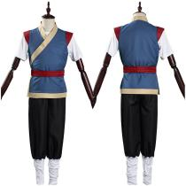 The Legend of LuoXiaohei Pants Top Outfit LuoXiaohei Halloween Carnival Suit Cosplay Costume
