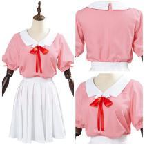 Rent A Girlfriend Ichinose Chizuru/Mizuhara Chizuru Cosplay Costume Girl's Top Short Skirt Suit Halloween Carnival Costume