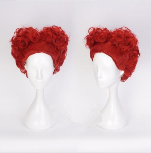 Alice in Wonderland The Red Queen Cosplay Wig
