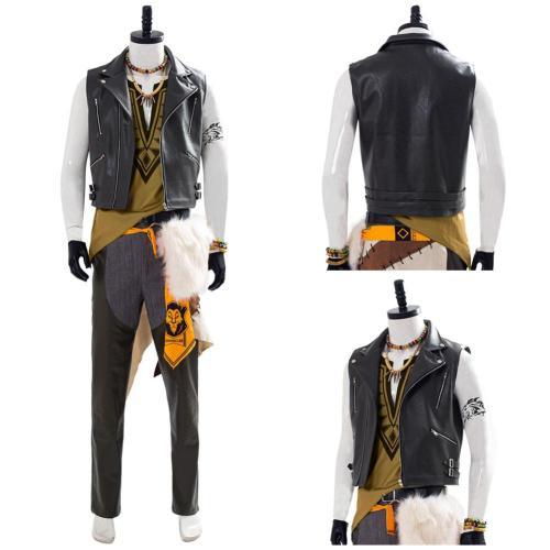 Twisted Wonderland Leona Kingscholar Outfit Halloween Cosplay Costume