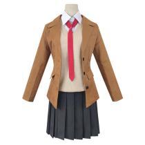 Anime Seishun Buta Yarou Series Skirt Outfit Sakurajima Mai School Uniform Cosplay Costume