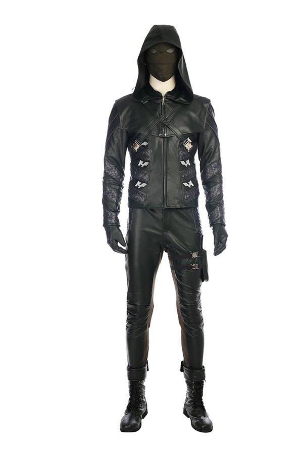 Arrow Season 5 Adrian Chase Prometheus Outfit Cosplay Costume
